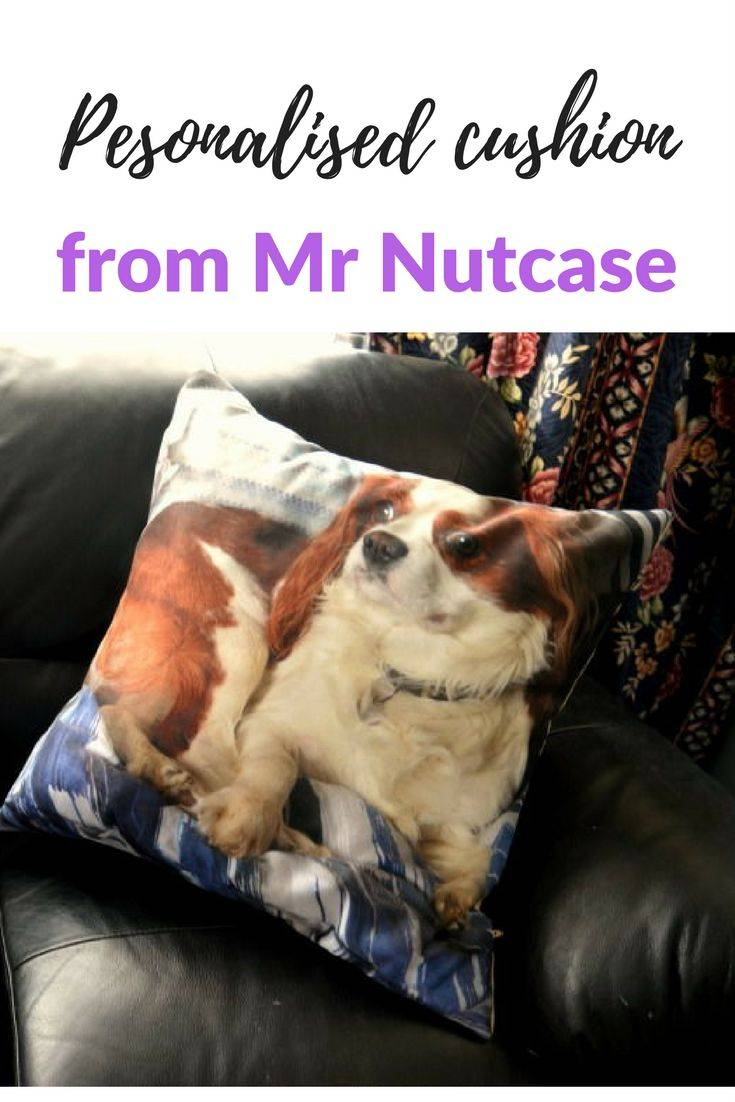 A personlised cushion from Mr Nutcase. These cushions are a great gift idea. Choose your photo and the cushion is created from it