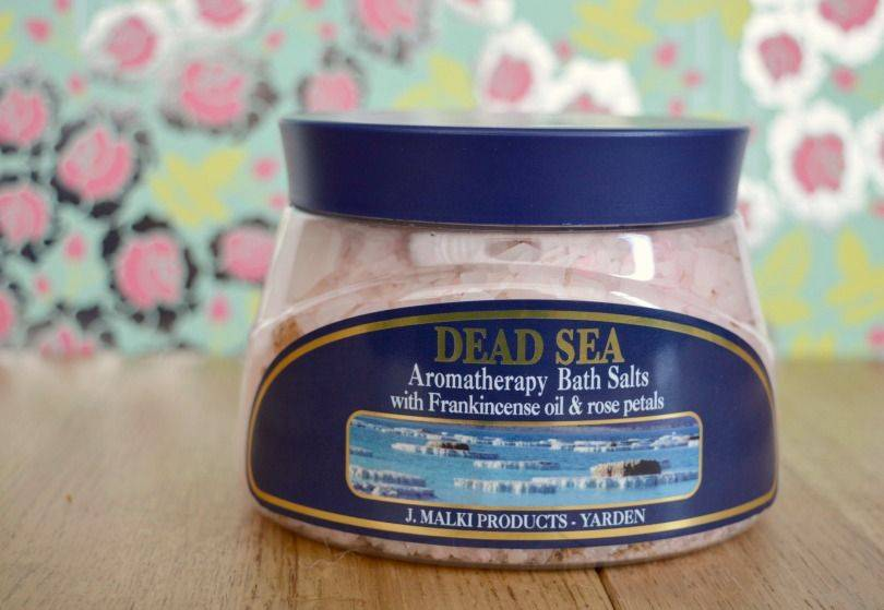 Malki Dead Sea aromatherapy bath salts