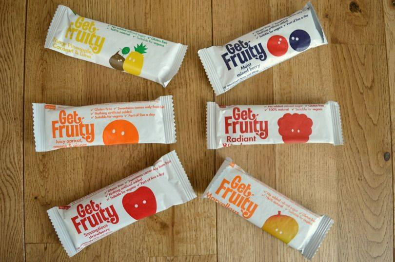 Get Fruity Bars: Review and Giveaway