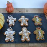 Gingerbread mummies, clowns and skeletons