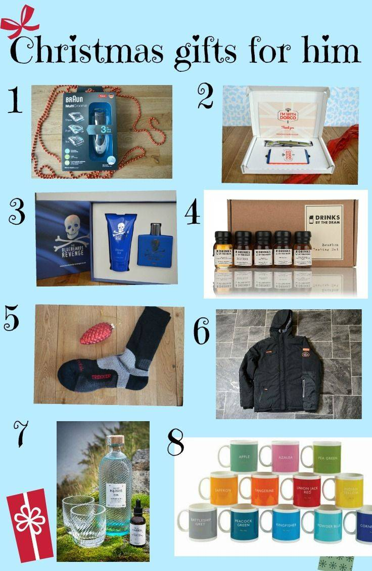 Christmas gifts for him - ideas for Christmas presents for the man in your life