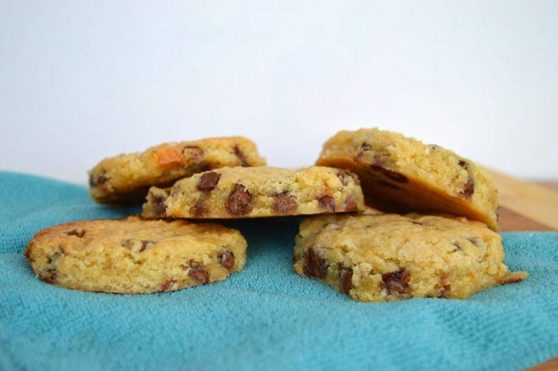 thousand year curse cookies or chocolate chip cookies from Hoxton Street Monster supplies cookbook