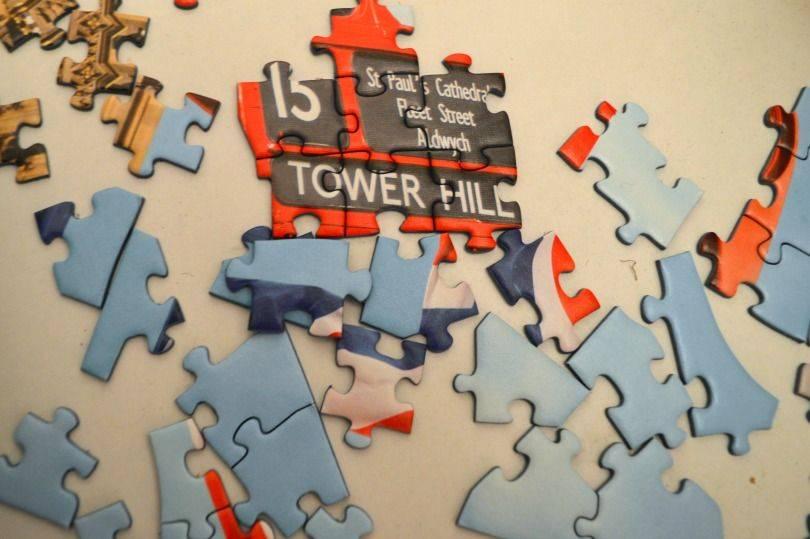 Ravensburger big Ben Silhoutte jigsaw