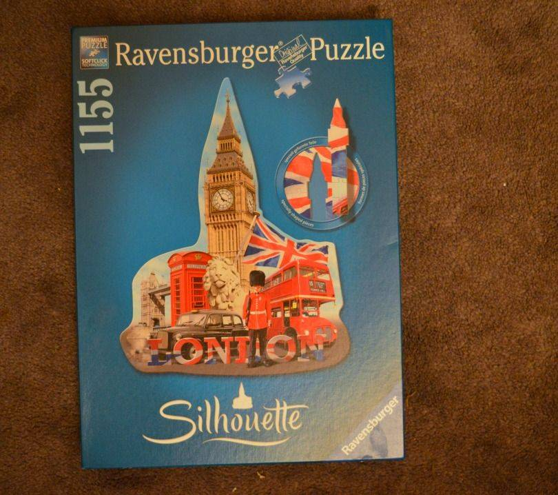 Ravensburger Big ben Silhouette puzzle