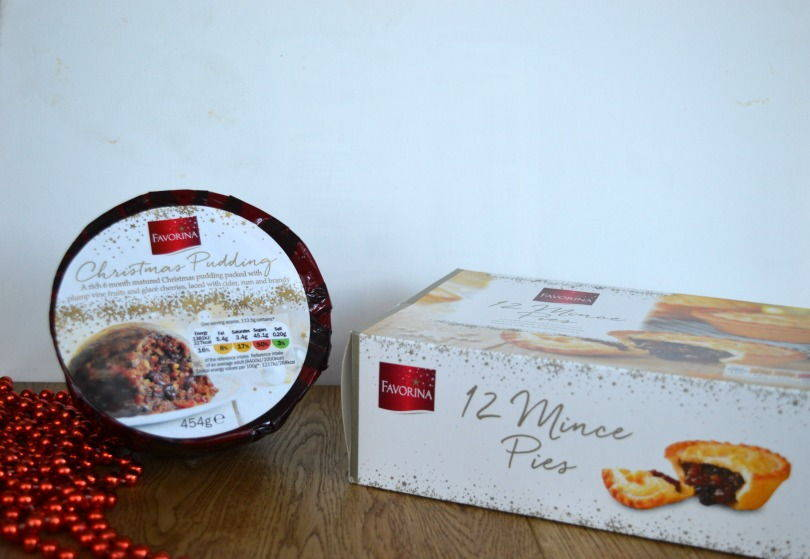 Mince pies and christmas pudding from lidl
