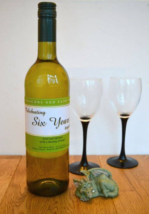 Personalised wine from menkind