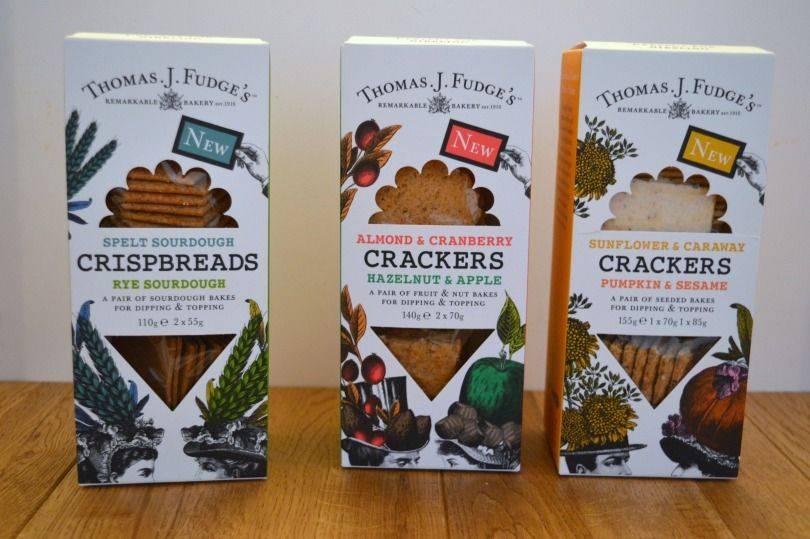 Thomas J Fudges crackers