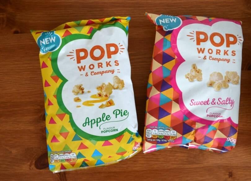 Pop Works Flavoured popcorn