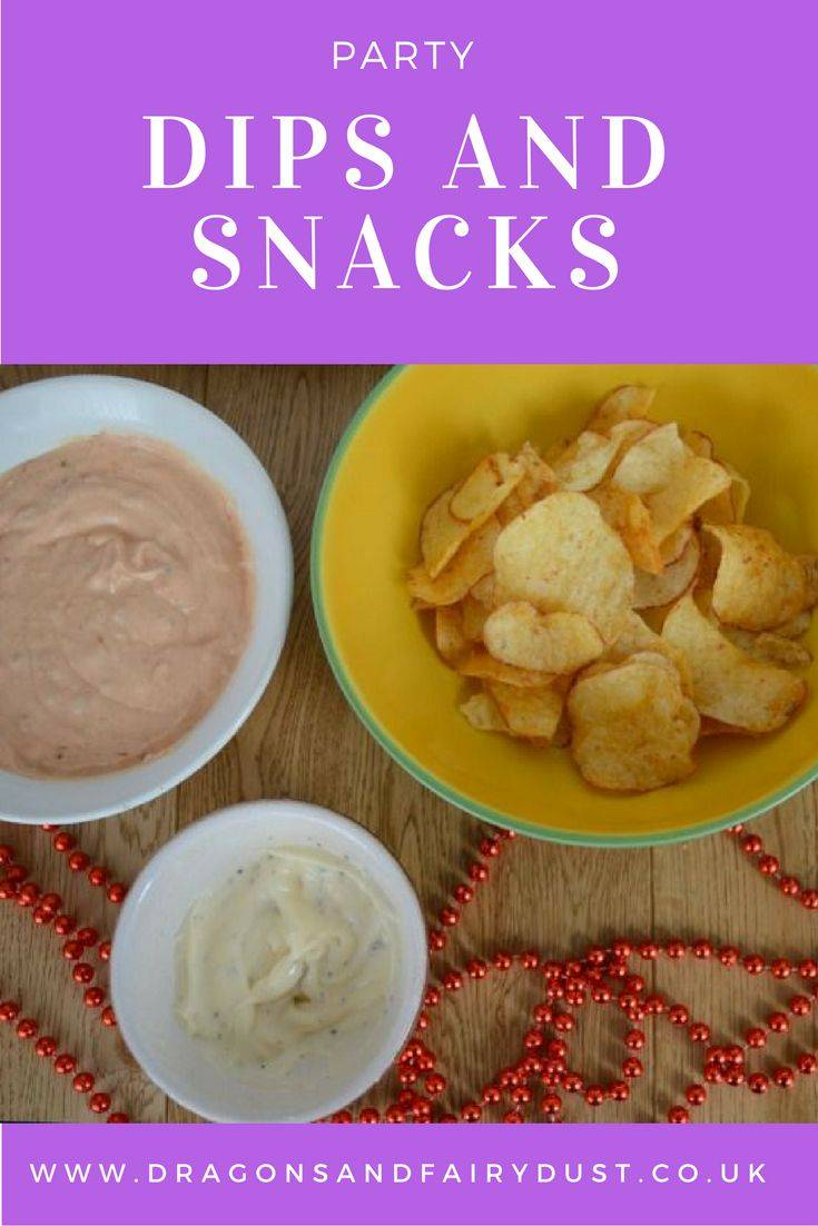 Party dips and snacks. A delicious and easy tomato dip and black pepper with lemon dip. Perfect served with crips or vegetable snacks