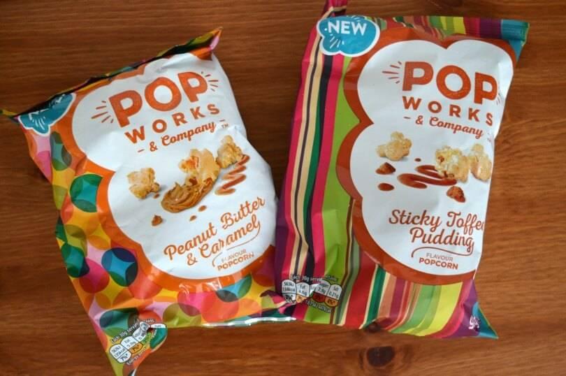 Popworks flavoured popcorn