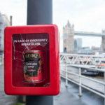 Heinz break in case of emergency box