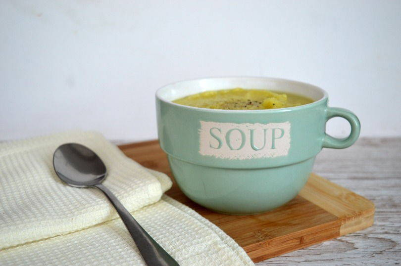 Parsnip and cauliflower soup