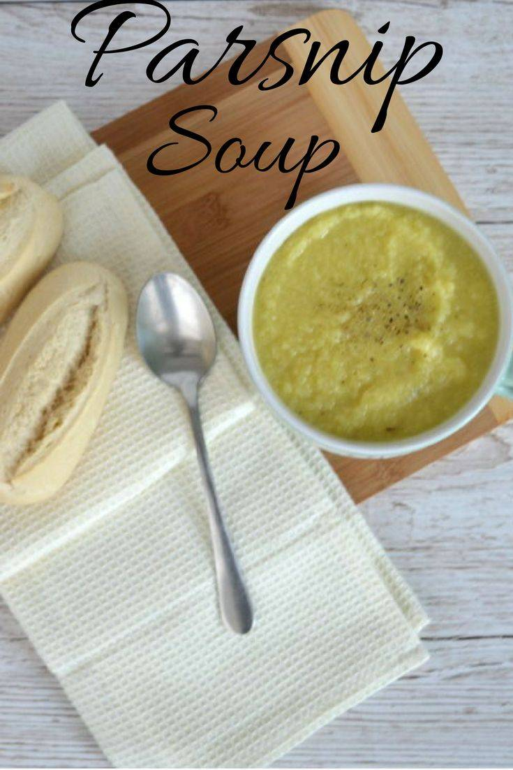 Parsnip and cauliflower soup. A simple and tasty soup which is creamy with a touch of spice. Healthy