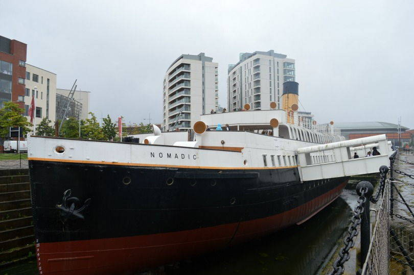 SS Nomadic moored at Hamilton Dock