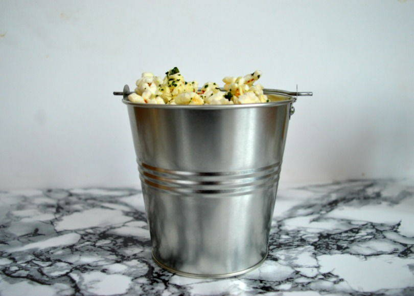 chilli kale popcorn