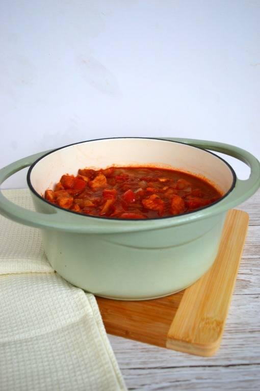 Easy paprika pork recipe