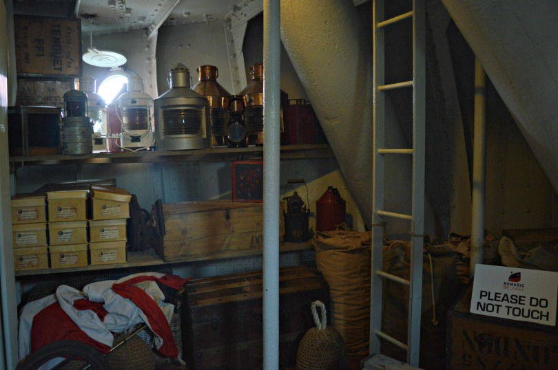 Crew quarters on the SS Nomadic