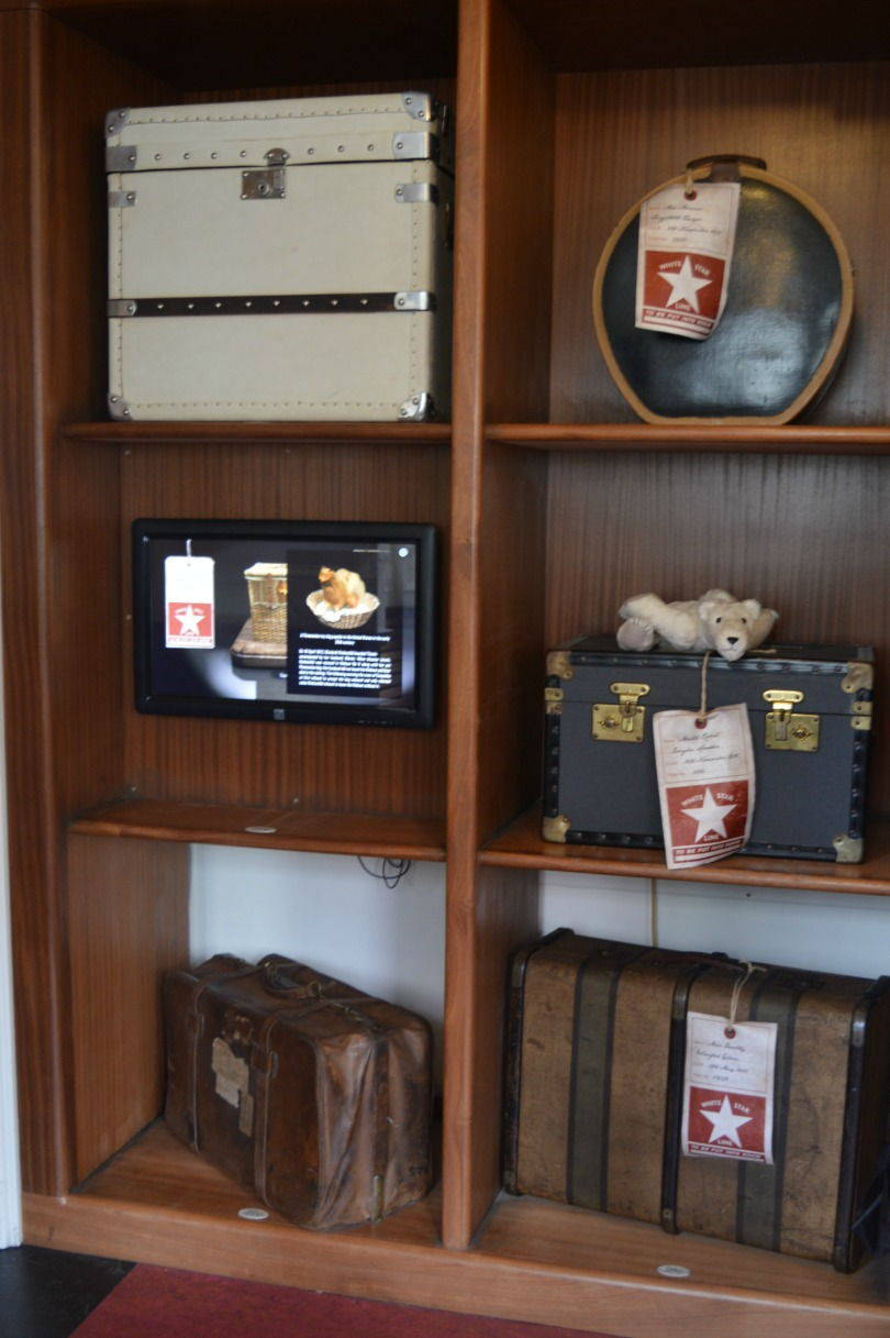 Luggage on the SS Nomadic