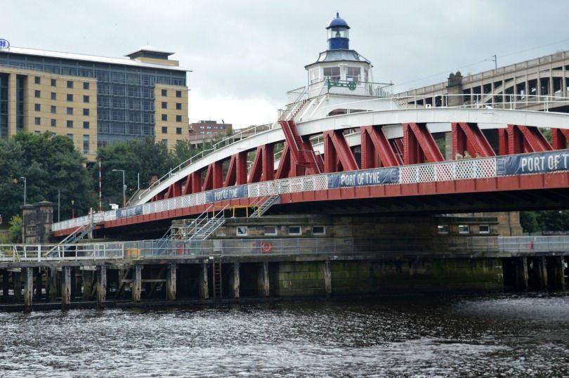 View of the Swing Bridge, Newcastle Upon Tyne