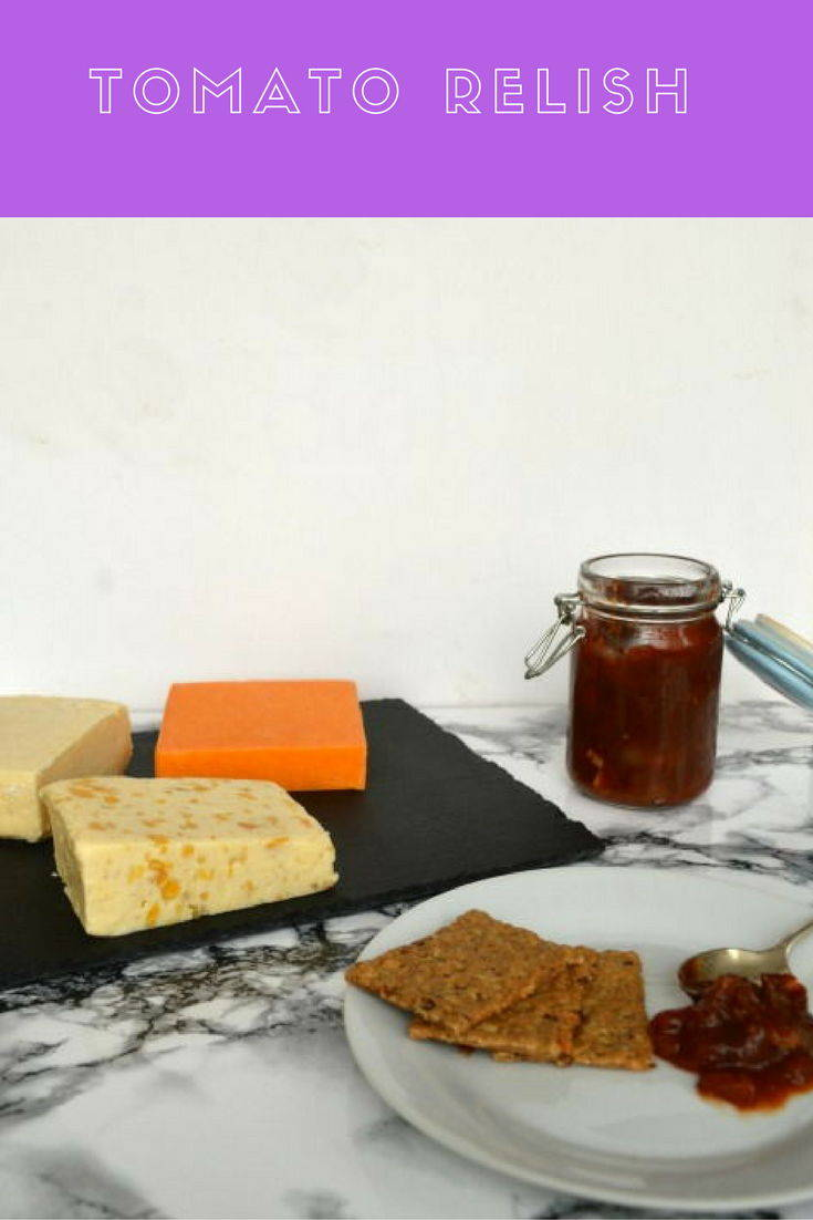 A quick and easy tomato chutney made with tinned tomatoes. Perfect for serving with cheese or burgers and cold meats