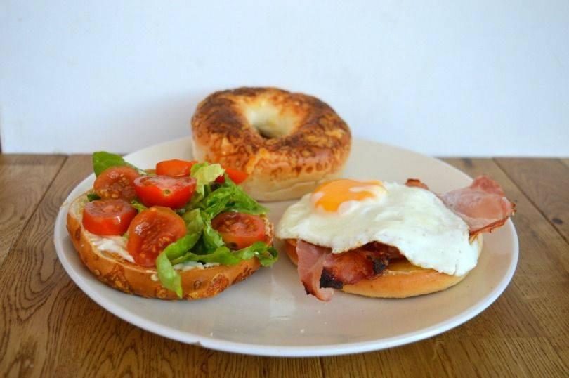 Three delicious ways to top a bagel