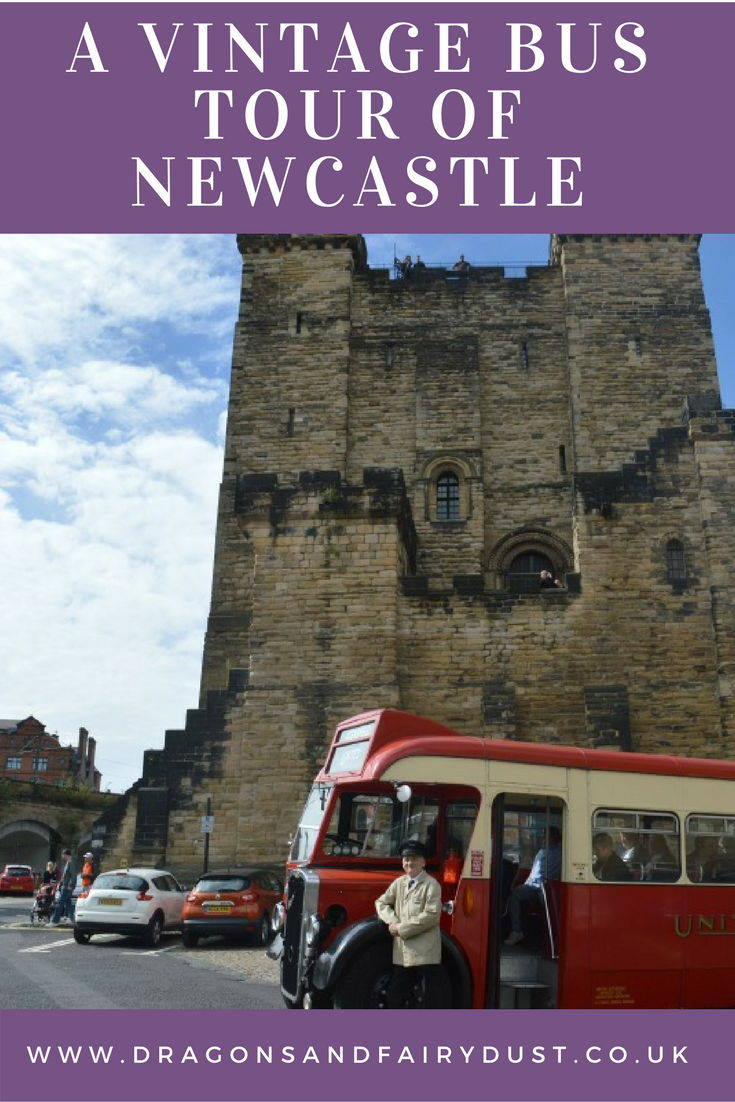 A vintage bus tour of the city - Taking a Heritage Open Days trip in a vintage bus around Newcastle Upon Tyne