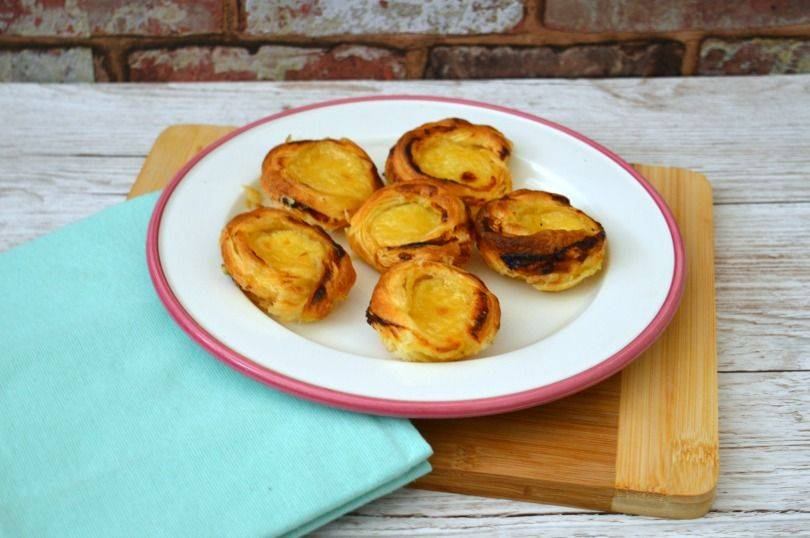 Custard Tarts from Beauty and the Beast: Lost in a Book by Jennifer Donnelly