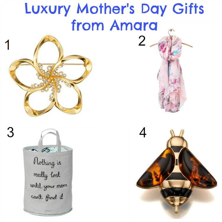 Luxury mother's day gifts from Amara