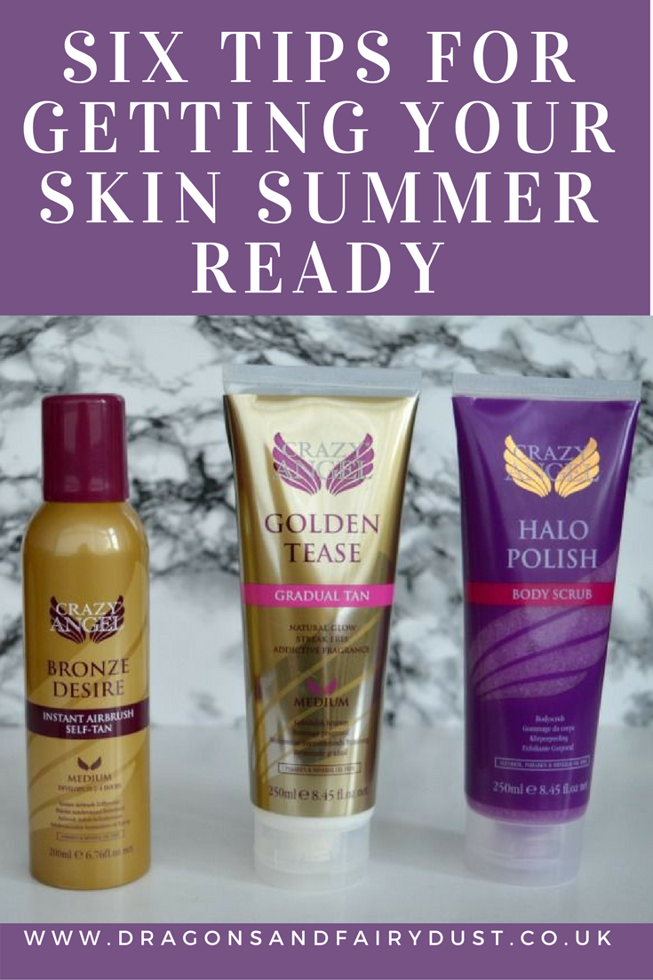 Six tips for getting your skin summer ready