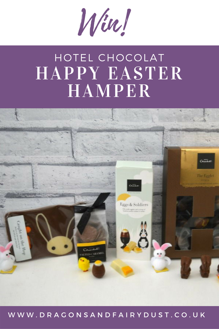 Hotel Chcolat Happy Easter Hamper Giveaway. Ends 10th April 2017
