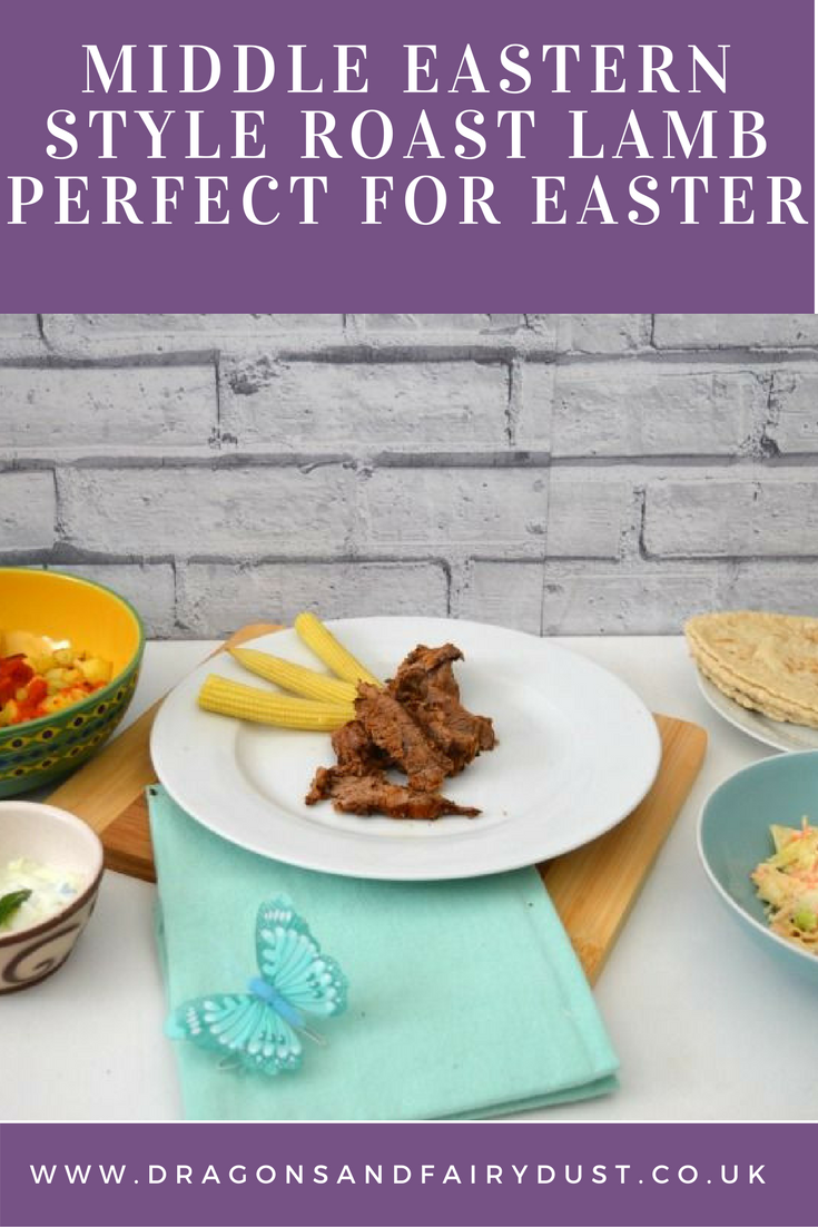 Middle Eastern Style Roast Lamb - perfect for Easter