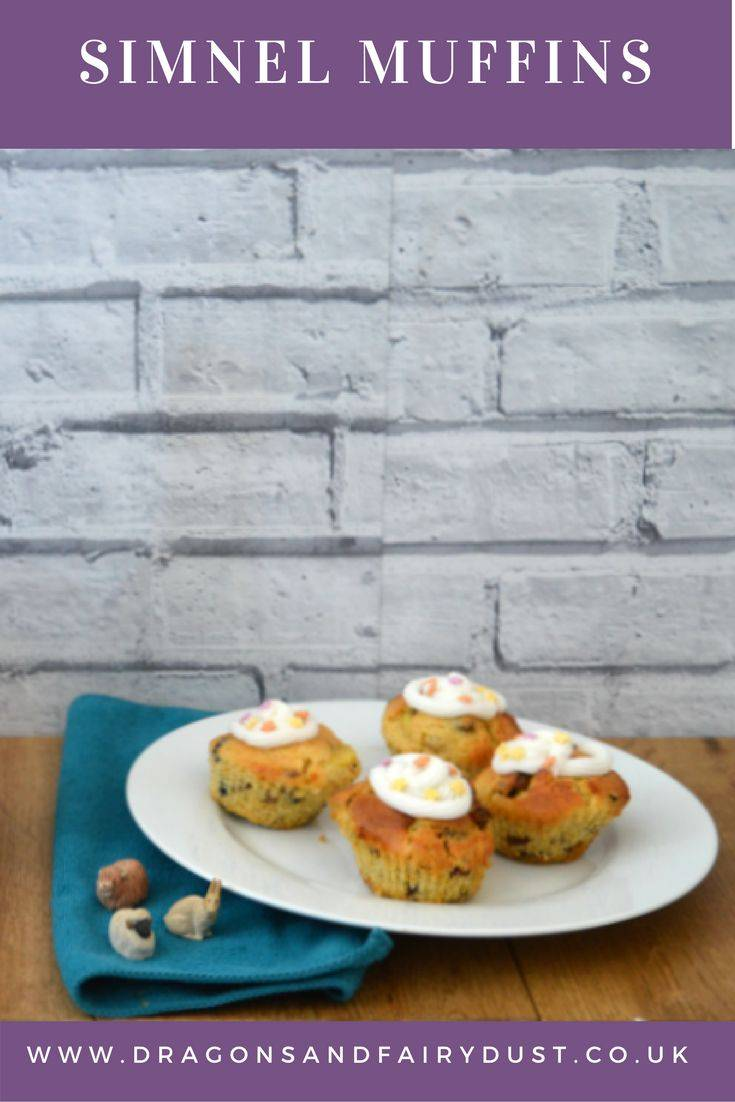 Simnel Muffins. These lightly spiced fruit muffins make the perfect Easter treat