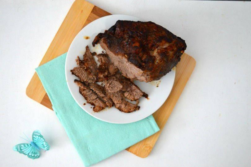 Middle eastern style roast lamb