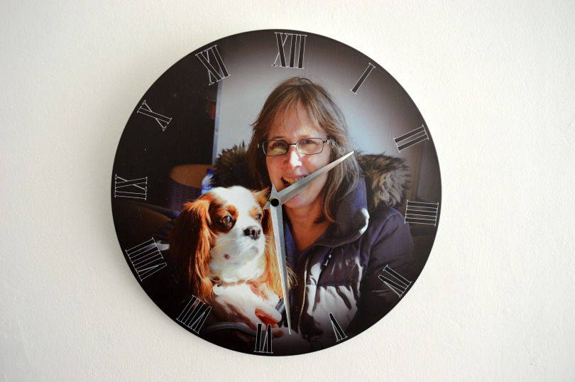 Imagise Personalised Clock Review and Giveaway