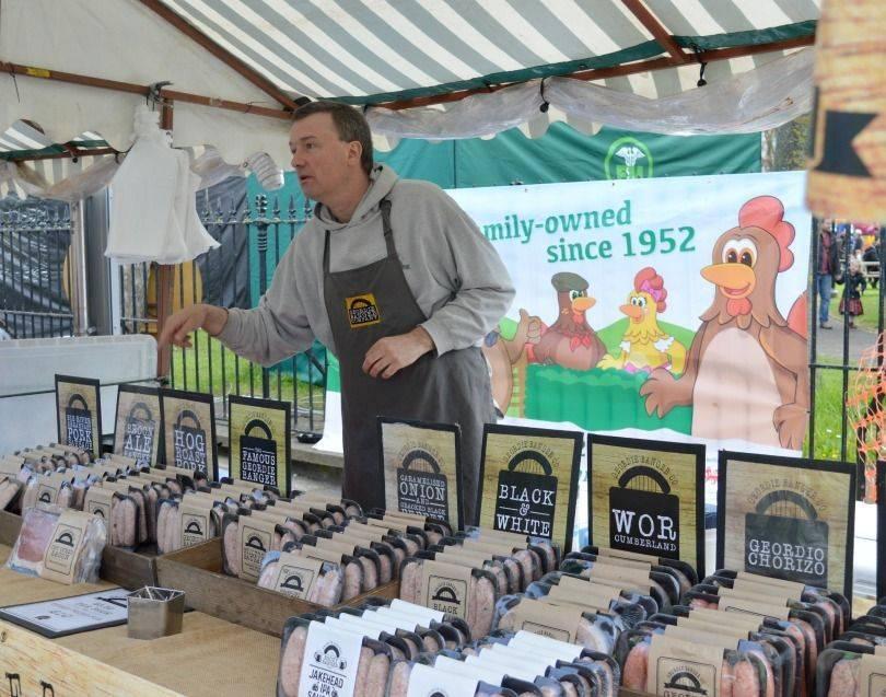 Geordie Bangers at Proper Food & Drink Festival North Shields