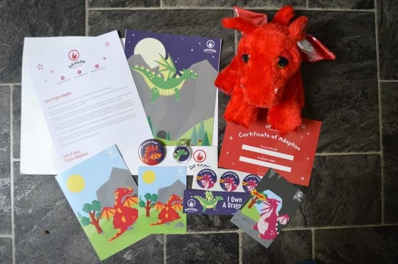 Dragon adoption pack