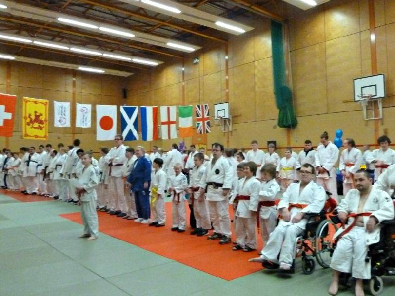 East of Scotland Physical And Intellectual Annual Disability Judo Opening Cereamony