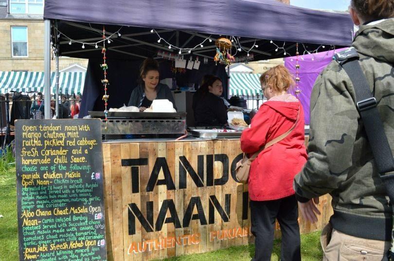 Tandori Nann at Proper Food & Drink Festival