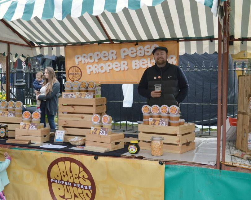 Petes pudding at proper food and drink festival North Shields