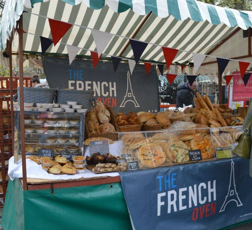 French oven bakery at proper food & drink festival north shields