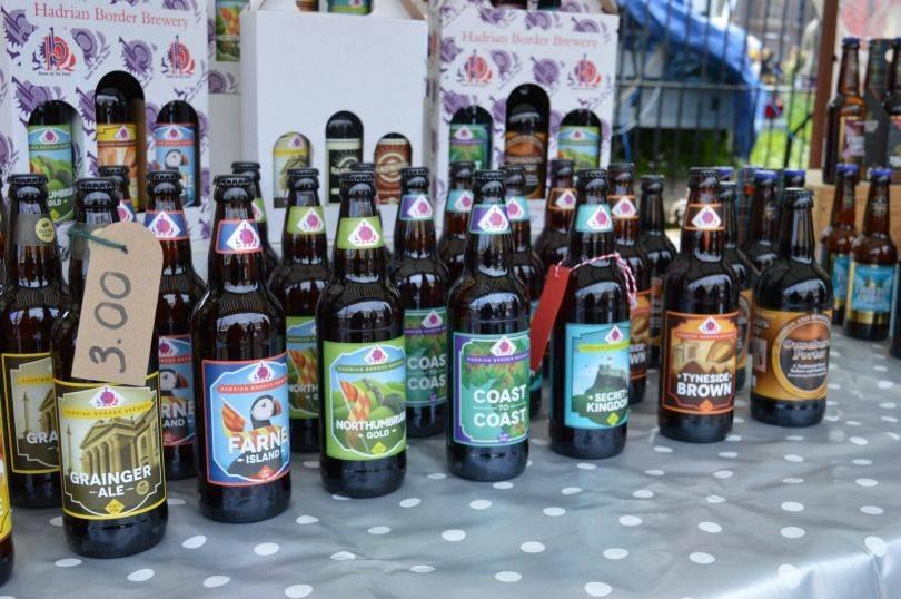 Hadrian border brewery at Proper Food Festival North Shields