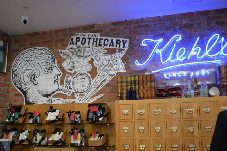 Visiting Kiehl's Newcastle Boutique