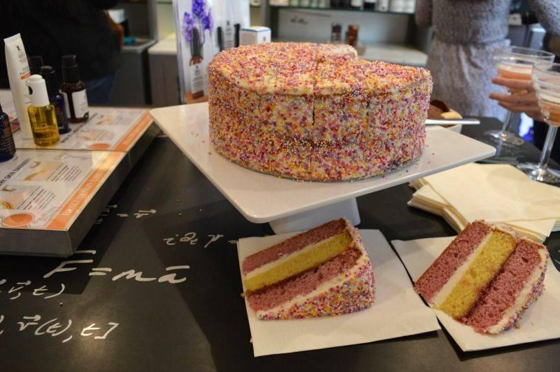Cake at Kiehls, Newcastle