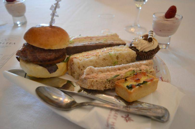 AFternoon tea at lumley castle