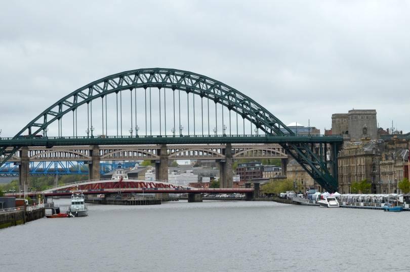 Newcastle's quayside