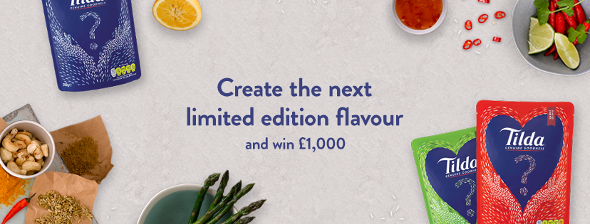 Tilda create your flavour competition