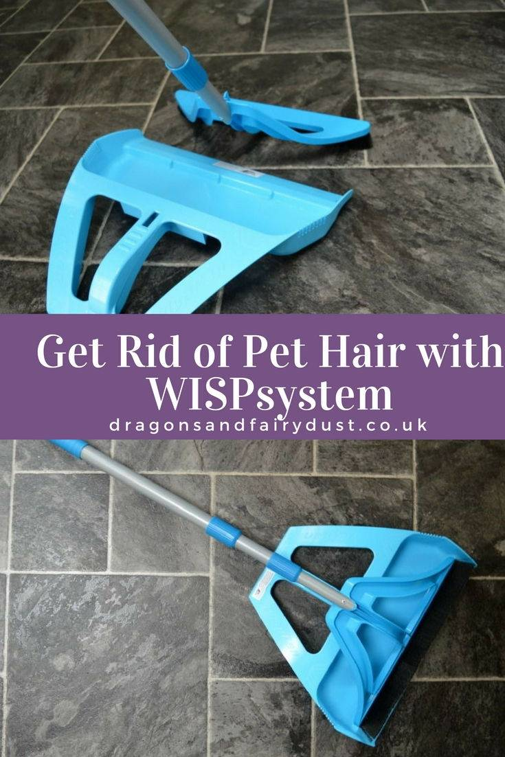 WISPSystem - an efficient cleaning sytem which gets rid of pet hair quickly