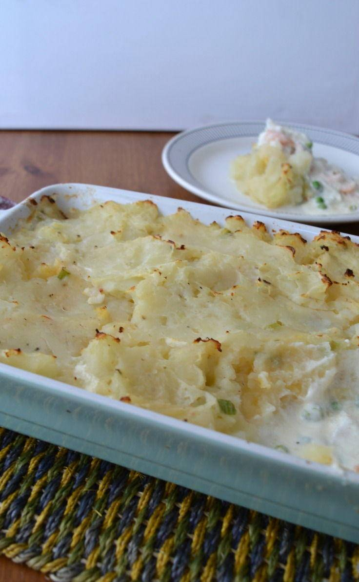 Light and Creamy Fish Pie for Summer