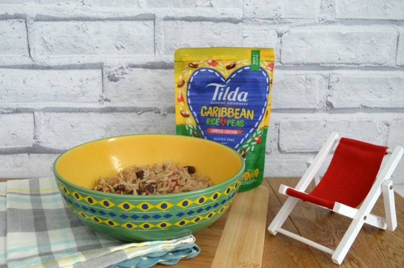 Tilda Basmati Caribbean rice and peas