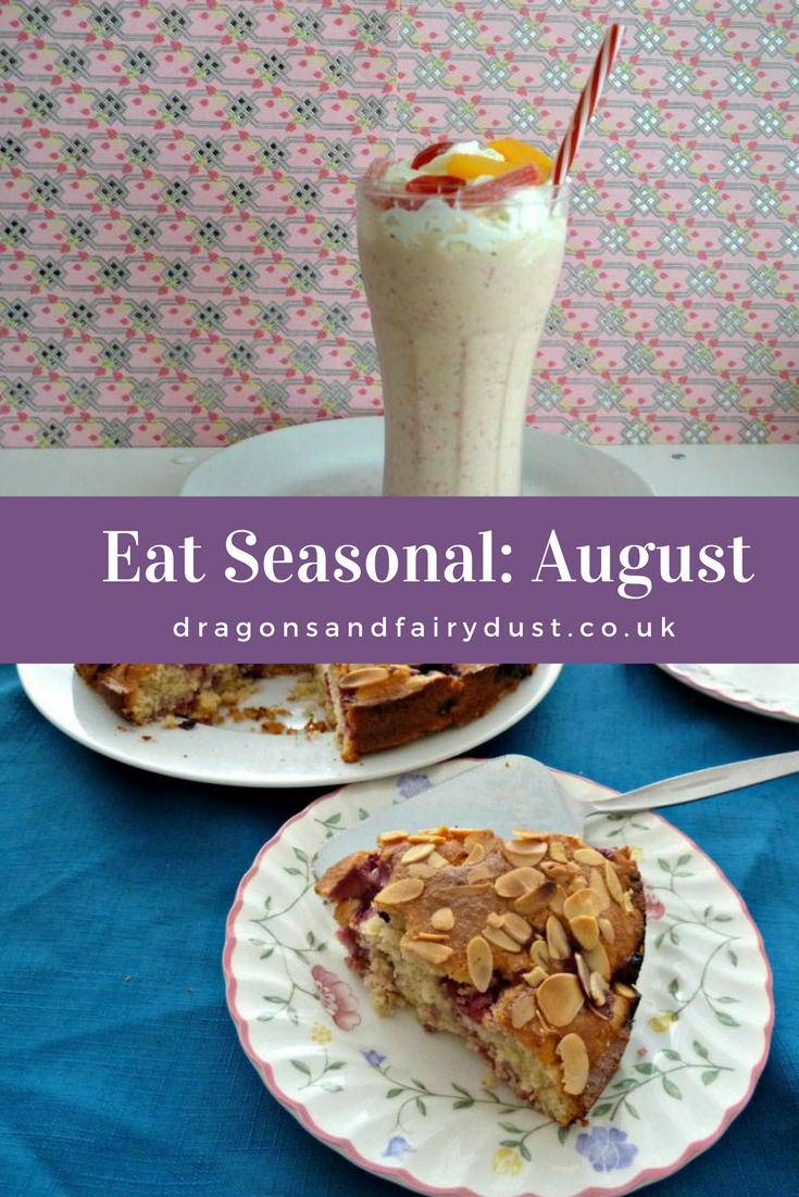 Wobdering what food is in season in August. Find a list and recipes using food that is available in August